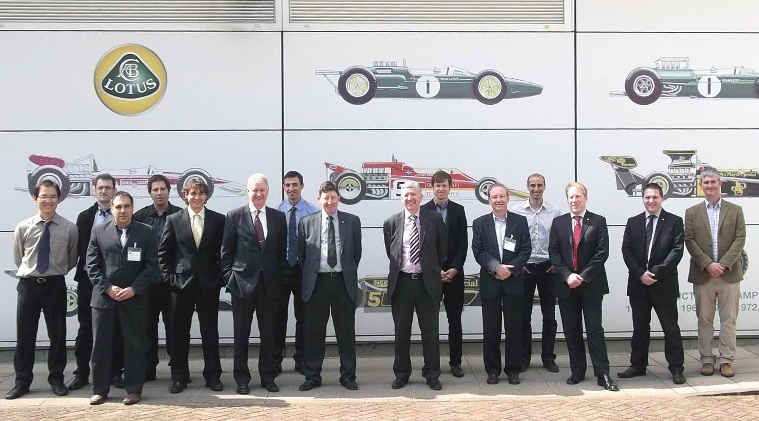 Venus Project Partners at M6 meeting (Lotus Eng., UK)